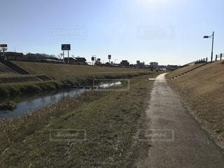 川辺を散歩 (カラー)の写真・画像素材[1004918]
