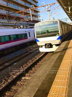 電車が来たよ ①の写真・画像素材[1009201]