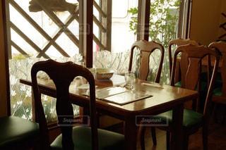 喫茶店にて食後のテーブルの写真・画像素材[785779]