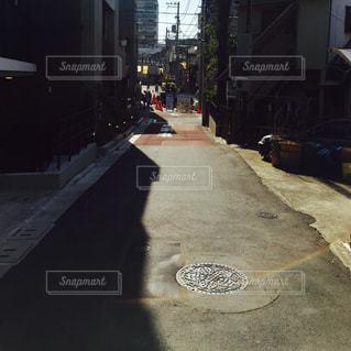 住宅街の写真・画像素材[1066584]