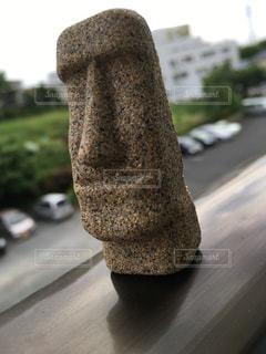 砂のモアイの写真・画像素材[788174]