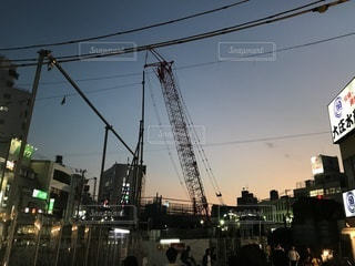 変わりゆく街の写真・画像素材[844325]