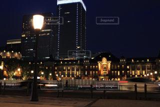 夜の東京駅 - No.787542
