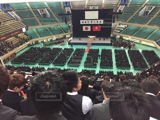 平成29年度日本大学入学式(日本武道館)の写真・画像素材[787616]
