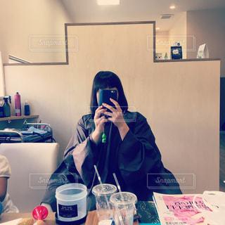 美容室にての写真・画像素材[788391]