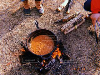 それで料理した鍋の写真・画像素材[1542892]