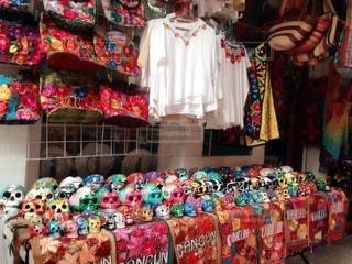メキシコの可愛い雑貨店の写真・画像素材[3407079]