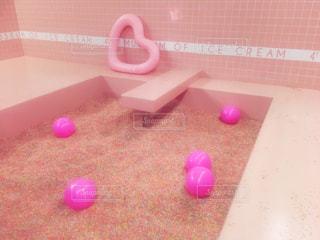 アイスクリームミュージアムのプールの写真・画像素材[792837]