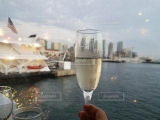 クルーズ船でディナーの写真・画像素材[793456]