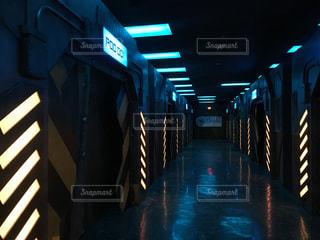 サイバー空間の写真・画像素材[799089]