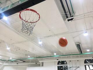バスケットボール シュートを外した時の写真・画像素材[875314]