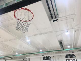 バスケットボールのゴールの写真・画像素材[875318]