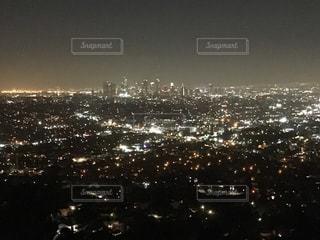 ロサンゼルスの夜景の写真・画像素材[791693]