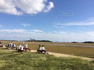 着陸の写真・画像素材[791551]