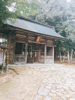 鳥取東照宮の門の写真・画像素材[859930]