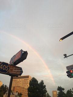 虹の街の写真・画像素材[794045]