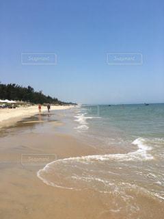 砂浜のビーチの写真・画像素材[793839]