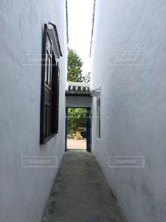 白い建物の写真・画像素材[793842]