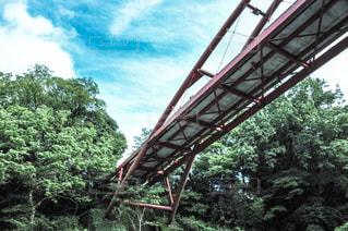 近くの橋の上の写真・画像素材[794129]