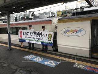 松本駅にての写真・画像素材[794648]
