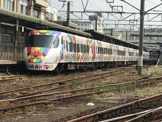 JR四国8000形アンパンマン列車の写真・画像素材[794692]
