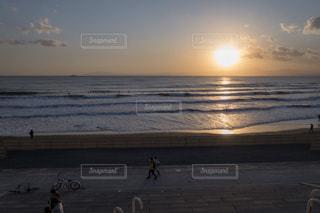 夕日の写真・画像素材[1017142]