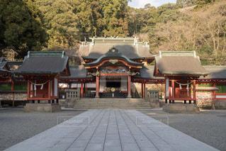 霧島神宮の写真・画像素材[1034010]