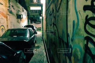 バンコクの路地裏の写真・画像素材[827721]
