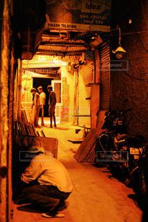 インドの路地裏の写真・画像素材[829330]