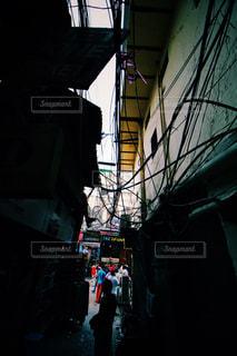 インドの路地裏の写真・画像素材[829602]