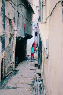 インドの路地裏の写真・画像素材[829923]