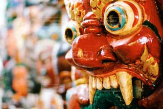 ネパールのお面の写真・画像素材[829979]