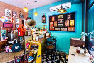バンコクのカフェの写真・画像素材[1168108]