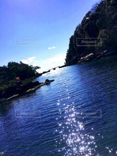 佐渡 矢島経島の写真・画像素材[795867]