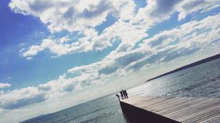 桟橋の先での写真・画像素材[798289]