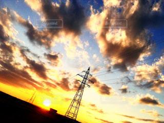 夕焼け空の写真・画像素材[824490]