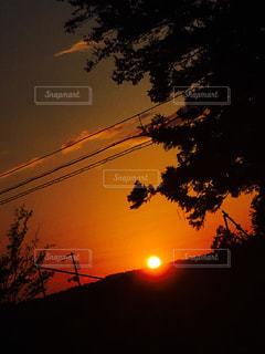 夕日の写真・画像素材[844647]