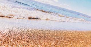 砂浜のビーチの写真・画像素材[1608189]