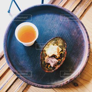 お菓子と紅茶の写真・画像素材[2769438]
