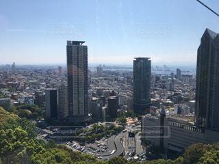 高層ビル街の景色 - No.795619