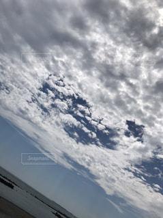 空には雲のグループの写真・画像素材[795989]