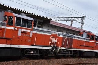 鋼のトラックの列車の写真・画像素材[798103]