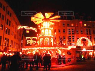 ドイツ クリスマスマーケット ドレスデンの写真・画像素材[814986]