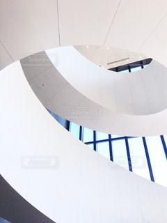螺旋階段好きにはたまらない曲線美の写真・画像素材[796220]