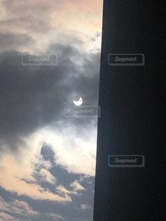 部分日食の写真・画像素材[1724413]