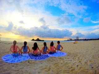 沖縄旅行での1枚☺︎の写真・画像素材[797155]