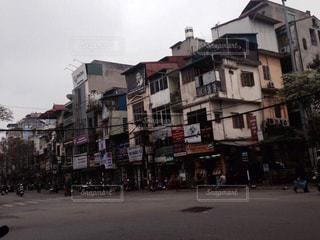 ベトナムの街並みの写真・画像素材[796862]