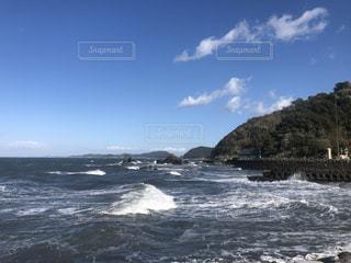 春の夫婦岩の写真・画像素材[3032889]