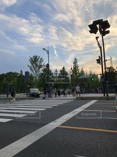 横断歩道の写真・画像素材[1356994]