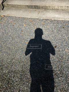自分の影 - No.804634